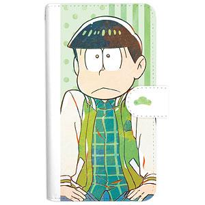 おそ松さん チョロ松 Ani-Art 第3弾 手帳型スマホケース L