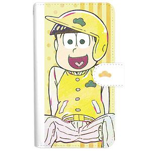 おそ松さん 十四松 Ani-Art 第3弾 手帳型スマホケース M