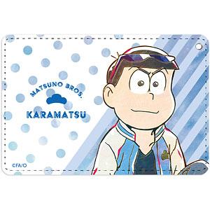 おそ松さん カラ松 Ani-Art 第3弾 1ポケットパスケース