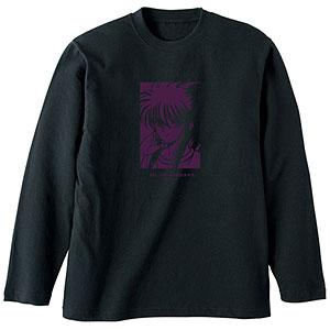 幽☆遊☆白書 描き下ろしイラスト 蔵馬 90'sカジュアルver. ロングTシャツ ユニセックス XL