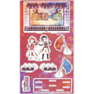 プレミアム アクリルジオラマプレート「アイドルマスター SideM」10/神速一魂(グラフアート)