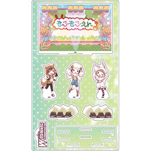 プレミアム アクリルジオラマプレート「アイドルマスター SideM」12/もふもふえん(グラフアート)