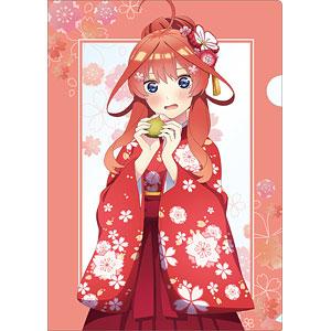 TVアニメ『五等分の花嫁∬』 描き下ろしイラスト 五月 桜和装ver. クリアファイル