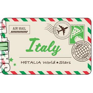 ヘタリア World★Stars ラゲージタグ「イタリア」
