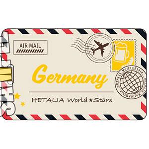 ヘタリア World★Stars ラゲージタグ「ドイツ」