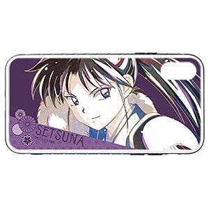 半妖の夜叉姫 せつな Ani-Art 強化ガラスiPhoneケース(X/XS)