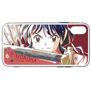 半妖の夜叉姫 もろは Ani-Art 強化ガラスiPhoneケース(X/XS)