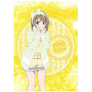 ラブライブ!虹ヶ咲学園スクールアイドル同好会 A4クリアファイル(ルームウェア) (3)中須かすみ