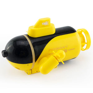 RC潜水艦 No.4 深海探査艇 イエロー