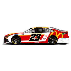 """1/64 """"ババ・ウォレス"""" #23 マクドナルド TOYOTA カムリ NASCAR 2021"""