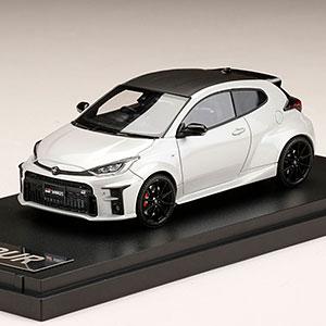 """1/43 Toyota GR YARIS RZ""""High-performance プラチナホワイトパールマイカ"""