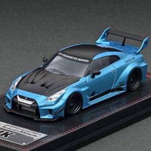 1/64 LB-Silhouette WORKS GT Nissan 35GT-RR Light Blue Metallic