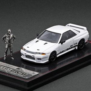 1/64 TOP SECRET GT-R (VR32) White With Mr.Nagata ※メタルフィギュア付