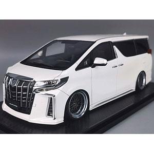 1/18 Toyota Alphard (H30W) Executive Lounge S Pearl White