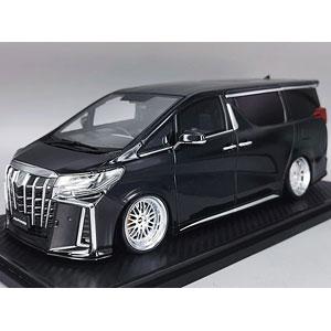 1/18 Toyota Alphard (H30W) Executive Lounge S Black