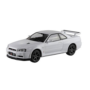 ザ・スナップキット No.11-B ニッサン R34スカイライン GT-R(ホワイト) プラモデル
