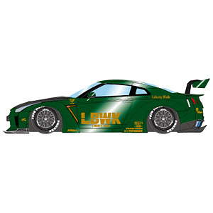 1/43 LB WORKS GT-R Type 1.5 LB-Silhouette GT Wing ver. メタリックグリーン