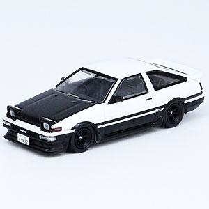 1/64 スプリンター トレノ AE86 ホワイト/ブラック