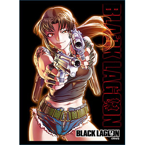 ブロッコリーキャラクタースリーブ BLACK LAGOON「レヴィ」 パック