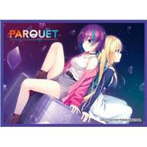 きゃらスリーブコレクション マットシリーズ PARQUET 「茨木リノ&城門ツバサ」(No.MT1160) パック