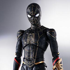 【特典】S.H.Figuarts スパイダーマン[ブラック&ゴールドスーツ](スパイダーマン:ノー・ウェイ・ホーム)