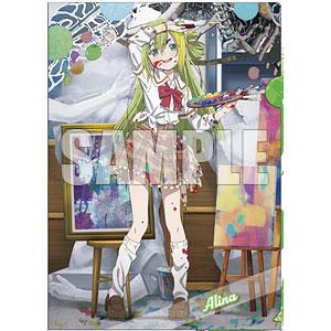 【限定販売】マギアレコード 描き下ろしA4クリアファイル アリナ・グレイ