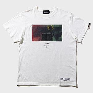 TORCH TORCH/ 黒沢清 アパレルコレクション CURE キュア: 蓄音機 T-Shirt ホワイト Sサイズ