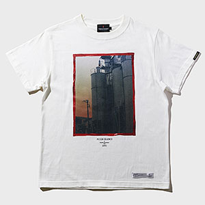 TORCH TORCH/ 黒沢清 アパレルコレクション 回路: 赤いスカートの女 T-Shirt ホワイト Mサイズ