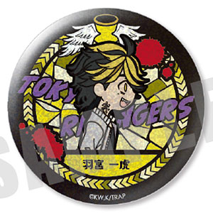 東京リベンジャーズ VETCOLO グリッター缶バッジ 09.羽宮一虎(ver.2)