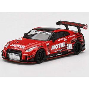 1/64 LB★WORKS Nissan GT-R R35 タイプ2 リアウイング バージョン 3 Infinite MOTUL(右ハンドル)
