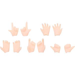 1/12 スケール ピコニーモボディ用マテリアル ピコニーモ ハンドパーツB ホワイト