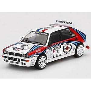 1/64 ランチア デルタ HF インテグラーレ エボルツィオーネ 1000湖ラリー 1992 優勝車 #3(左ハンドル)