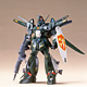 Mobile Suit Gundam F91 1/100 Dahgi-Iris Plastic Model