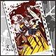 「文豪ストレイドッグス」マイクロファイバーハンドタオル デザイン01(太宰/中島/泉)