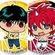YuYu Hakusho - Chimi Chara Trading Can Badge vol.2 10Pack BOX