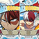 DecoFla Acrylic Keychain - My Hero Academia Vol.2: Todoroki BOX 10Pack BOX