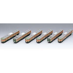 98989 限定品 JR 115 1000系近郊電車(高崎車両センター・ありがとう115系)セット(6両)