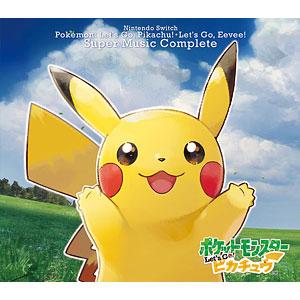 CD Nintendo Switch ポケモンLets Go! ピカチュウ・Lets Go! イーブイ スーパーミュージック・コンプリート[オーバーラップ]《発売済・在庫品》